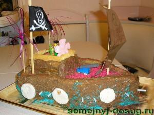 Торт для пиратов
