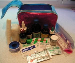 Содержимое походной аптечки