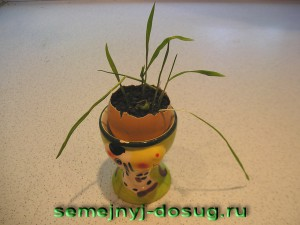 Яйцо №2 – салфетка, рожь