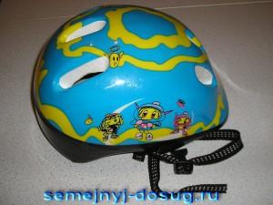 Шлем из защитного набора