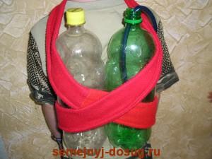 Крепление кислородных балонов