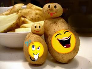 Разговор двух картофелин