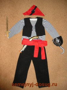 Элементы костюма пирата
