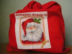 Новогодний мешок с подарками