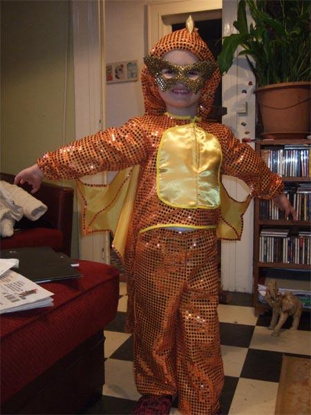 Новогодний костюм дракона своими руками-4