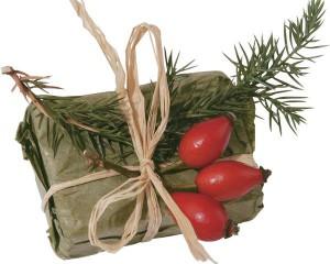 Коллаж на упаковке подарков-2