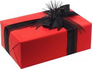 Украшение подарков бантами и лентами