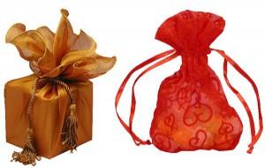 как упаковать подарок нестандартной формы