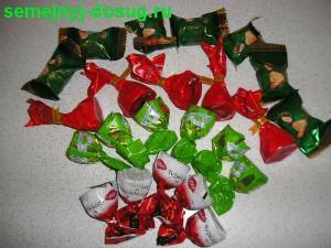 Изготовление букета из конфет-4