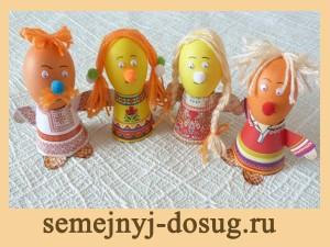 Украшение яиц на Пасху