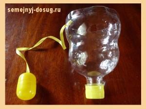 «Ловилка» из пластиковой бутылки