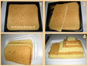 Как приготовить домашний торт-4