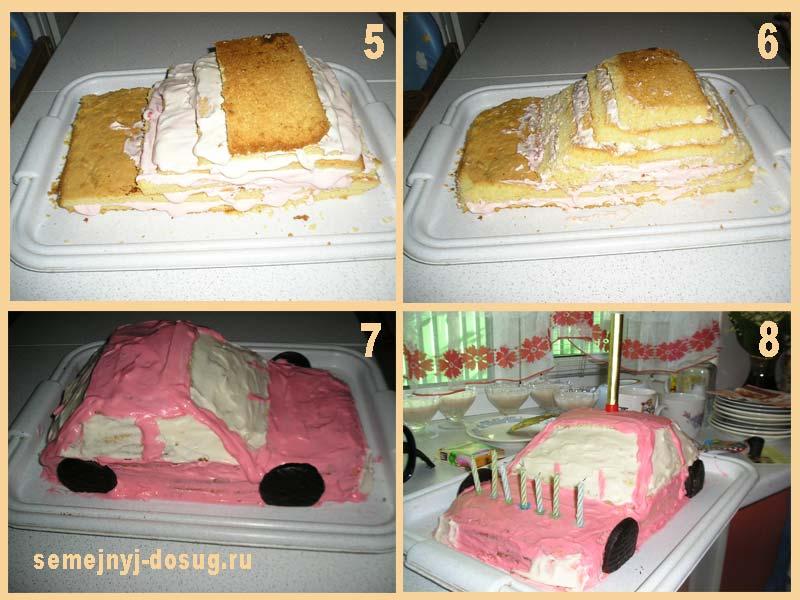 Украсить торт рецепт своими руками 246