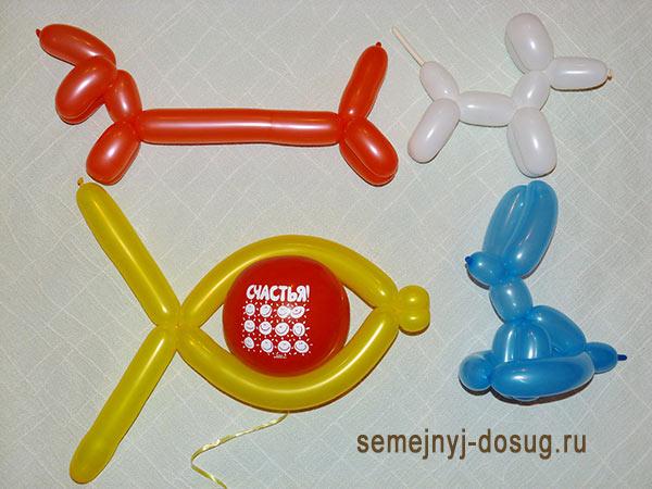 Поделки из воздушных шариков-1