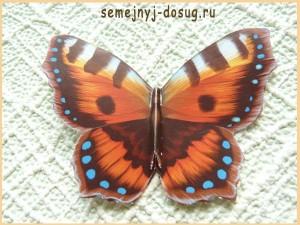 Бабочка для открытки