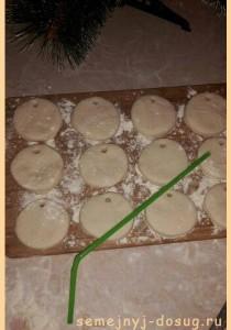 Игрушки на ёлку из соленого теста